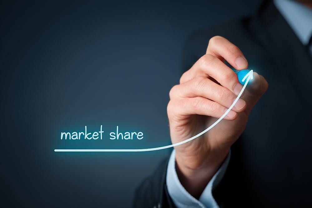 Qual o Market Share?