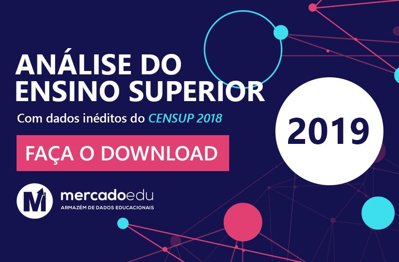 Análise do Ensino Superior 2019: Disponível para download!